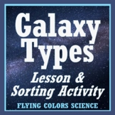 NGSS Astronomy & Space Activity:  Galaxy Types (NGSS MS-ESS1-2 MS-ESS1-3)