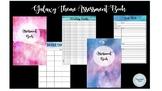 Galaxy Watercolour Assessment Book
