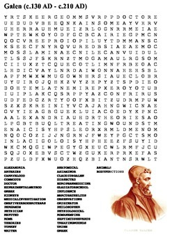 Galen Word Search