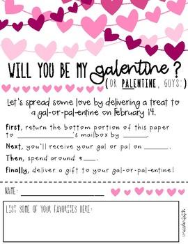 Galentine/Palentine Staff Exchange