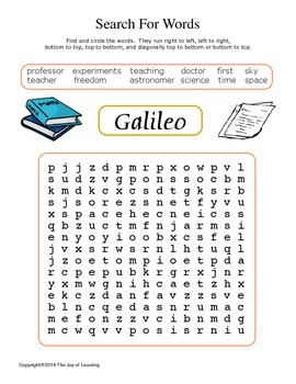 Galileo Activity Fun