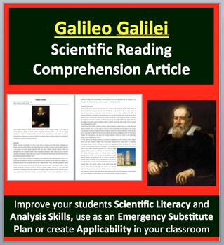 Galileo Galilei - A Famous Scientist Reading