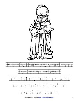Galileo Galilei Coloring Book-Level B