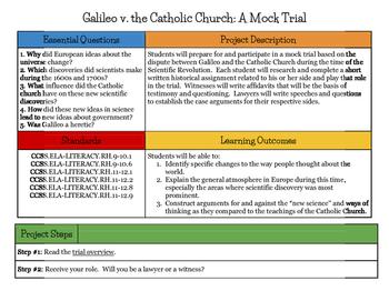 Galileo Mock Trial Simulation