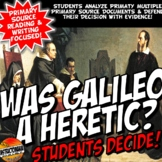 Galileo Guilty or Not? DBQ Common Core Literacy & Writing Activity