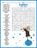 Galileo Word Search Worksheet