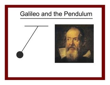 Galileo and the Pendulum (Smartboard)