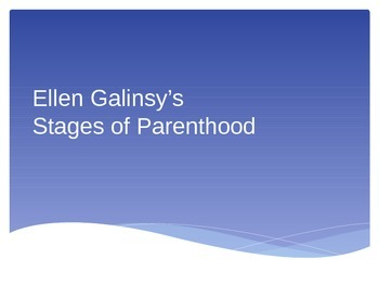 Galinsky's Stages of Parenting
