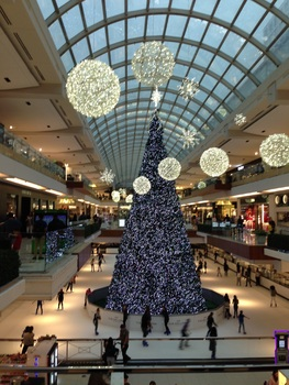 Galleria Mall in my heart during the Holidays, Houston, Texas