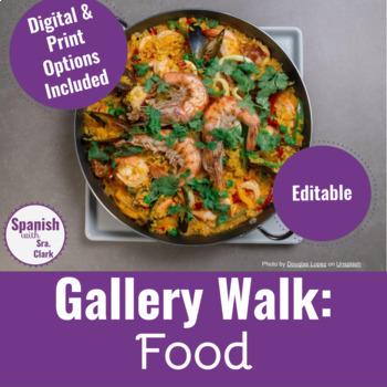Gallery Walk Activity: Food