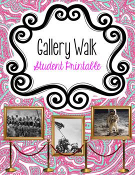 Gallery Walk Analysis Sheet