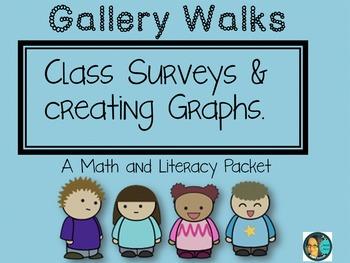 Math and LA Common Core Aligned-Gallery Walk Data Collecti