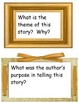Gallery Walk Houghton Mifflin Reading Series, Theme 2 4th Grade