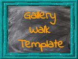 Gallery Walk Template