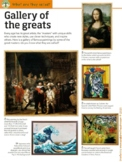 Gallery of the Greats WebQuest