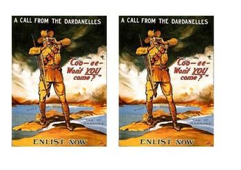 Gallipoli Comic Strip and Storyboard