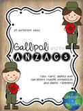Gallipoli & The ANZACs: Task Rubric