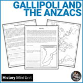 Gallipoli and the ANZACS Unit - WWI