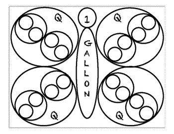 Gallon Butterfly- Measurement