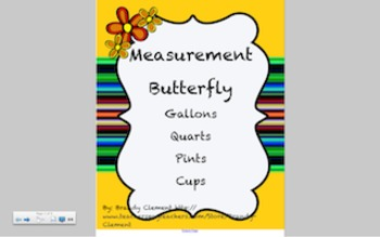 Gallon Butterfly Smart Board Lesson