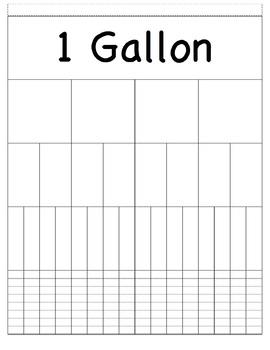 Gallon Conversion Foldable