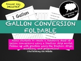 Gallon Conversion Foldable