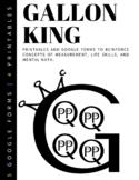 Gallon King Man Google Forms & Printable Virtual Digital Liquid Capacity