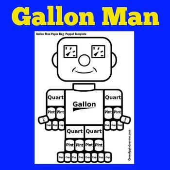 Measurement Activity   Measurement Craft   Gallon Man   Me