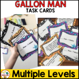Gallon Man Conversion Task Cards