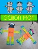 Gallon Man {FREEBIE}