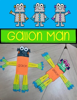 Gallon Man {FREEBIE}