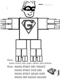 gallon man worksheets teaching resources teachers pay teachers. Black Bedroom Furniture Sets. Home Design Ideas