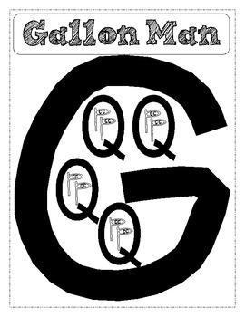 Gallon Man for Student Journal