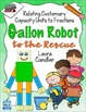 Gallon Man / Gallon Robot (Measurement and Fractions)