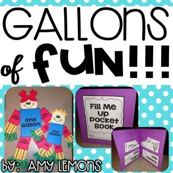 Gallons of Fun!  {A Capacity Mini-Unit}