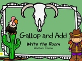 Gallop and Add-Write the Room Addition