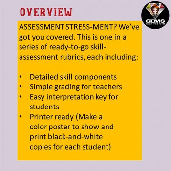 Galloping!  Skill Assessment Rubric