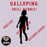 PE Rubric - Galloping!  Skill Assessment Rubric