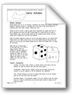 Game Activities (Math)