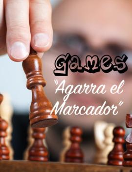 """Game: """"Agarra el Marcador"""""""