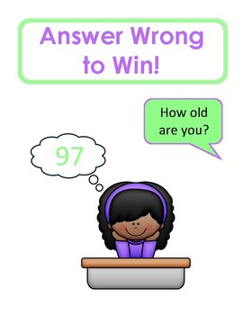 Game! - Answer Wrong to Win