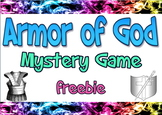 Bundle: Armor of God board & mystery games, graphics & dramatic activity