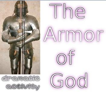 Armor of God dramatic activity freebie