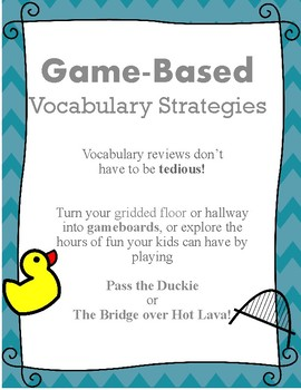 Game Based Vocabulary Strategies