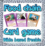 Game: Bible food chain, web & adaptations card game