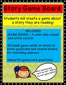 Reading Game for Students to Create