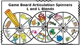 Game Board Articulation Spin Wheels: L and L Blends