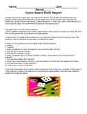 Game Board Book Report