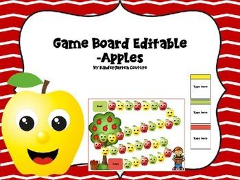 Game Board Editable -Apple Theme