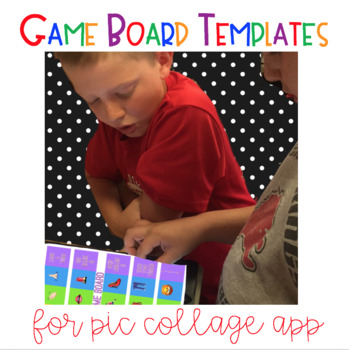 Game Board Graphic Organizers For Pic Collage App